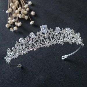 Maeve Crystal Tiara Bridal